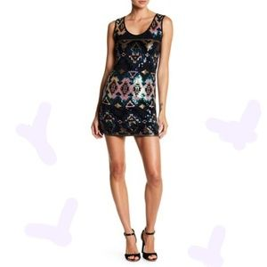 Papillon Sequin Dress
